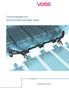 "New brochure ""Thermal management"""