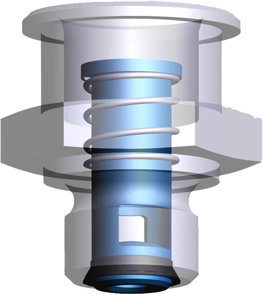 Flow-stop valves