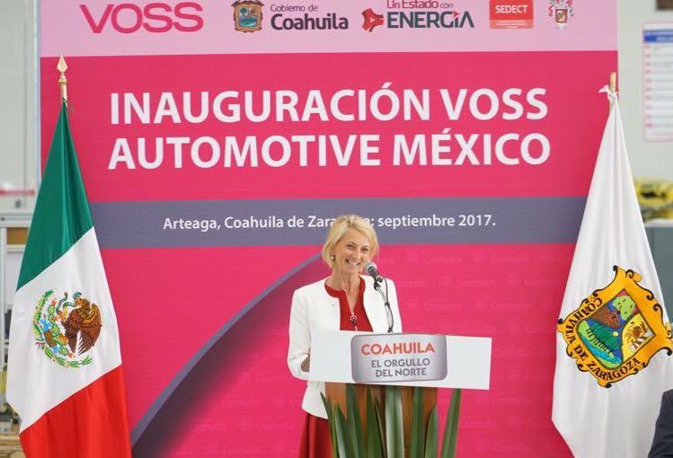 VOSS Automotive Mexiko feiert die Eröffnung der neuen Produktionsstätte