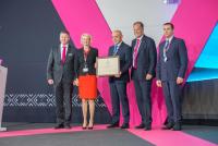 From left to right: Roland Weiß, Dr. Regine Hagen-Eck, Tomislav Donchev, Dr. Thomas Röthig, Vladimir Tudzharov