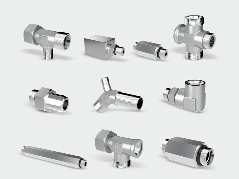Rohrverschraubungssysteme  VOSS Fluid