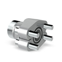 VOSS SAE flange couplings with cutting ring connection