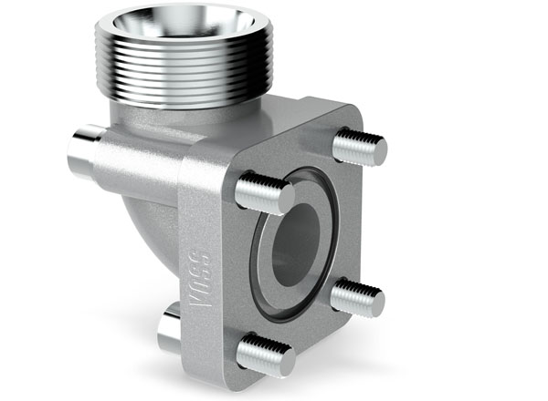 VOSS flange couplings with square flange connection