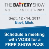 Schedule a meeting with VOSS at The Battery Show