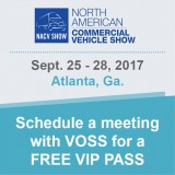 Schedule a meeting with VOSS at the NACV Show 2017