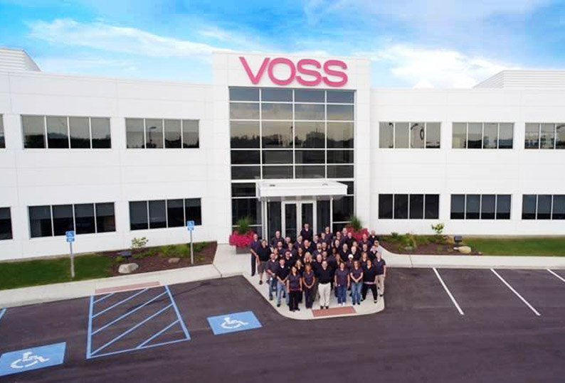 VOSS Group – Sales and employees