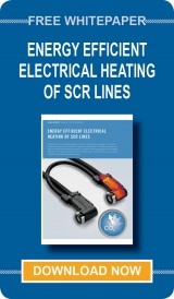 Download your VOSS whitepaper: Energy Efficient Electrical Heating of SCR Lines